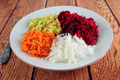 Beetroot, turnip, carrot and apple salad - PhotoDune Item for Sale