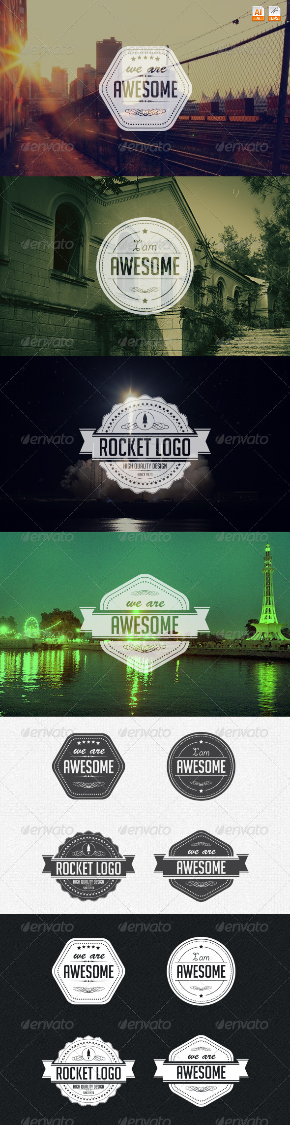GraphicRiver Logo Badges 4166564