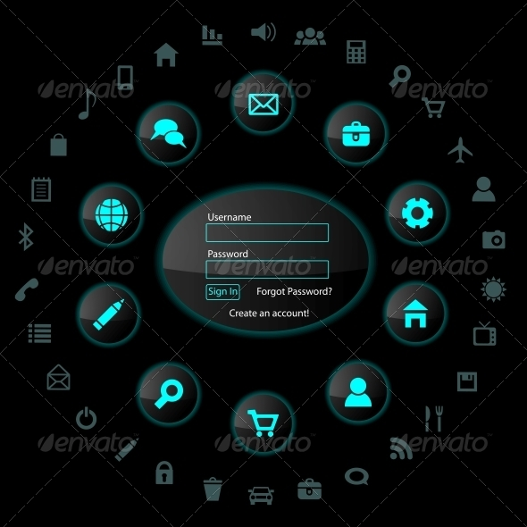 GraphicRiver Web Design Elements 4167432
