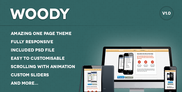 Woody - Landing Pages Marketing