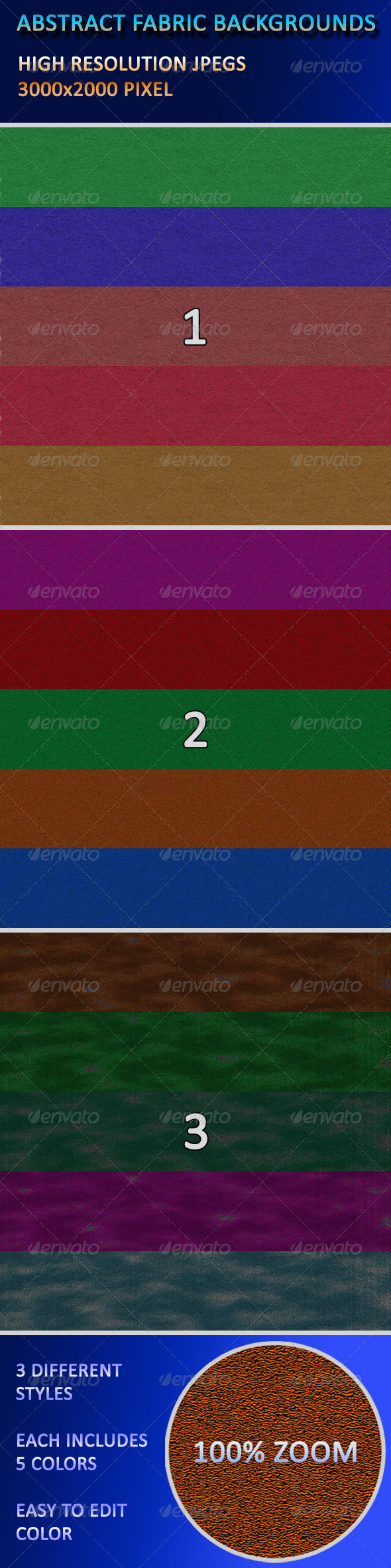GraphicRiver Abstract Fabric Backgrounds 4169600