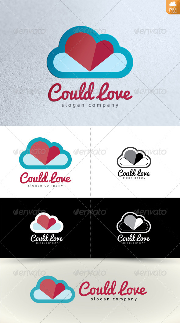 GraphicRiver Cloud Love 4170499