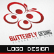 Butterfly Logo Design - GraphicRiver Item for Sale