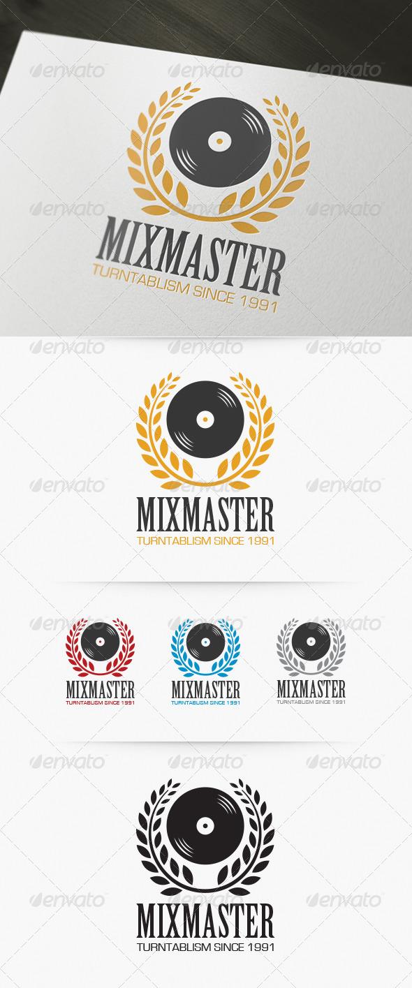 GraphicRiver Mixmaster Logo 4174138