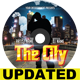 The City CD Cover-Graphicriver中文最全的素材分享平台
