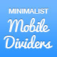 Mobile Minimalist Divider Set - GraphicRiver Item for Sale