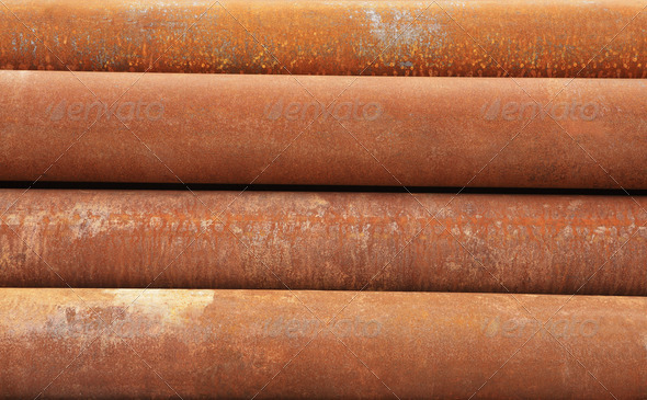 PhotoDune Rusty metal pipe 4175569