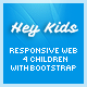 Hey Kids - Responsive Multipurpose Children Web - ThemeForest Item for Sale