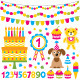 Birthday Party Design Elements Set - GraphicRiver Item for Sale