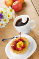 Hot coffee and tasty cake - PhotoDune Item for Sale