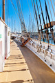 Wooden sailboat deck, masting and rigging - PhotoDune Item for Sale