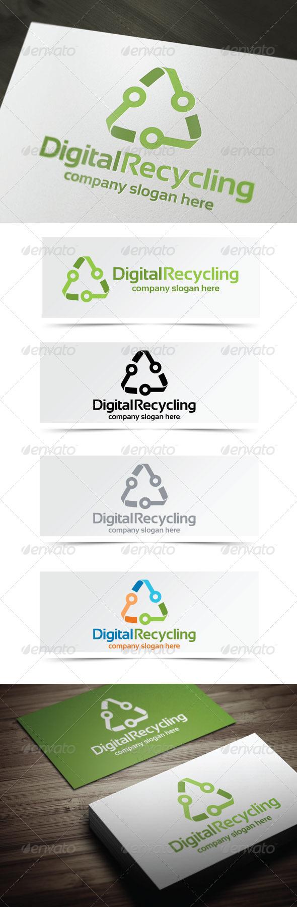 GraphicRiver Digital Recycling 4177511