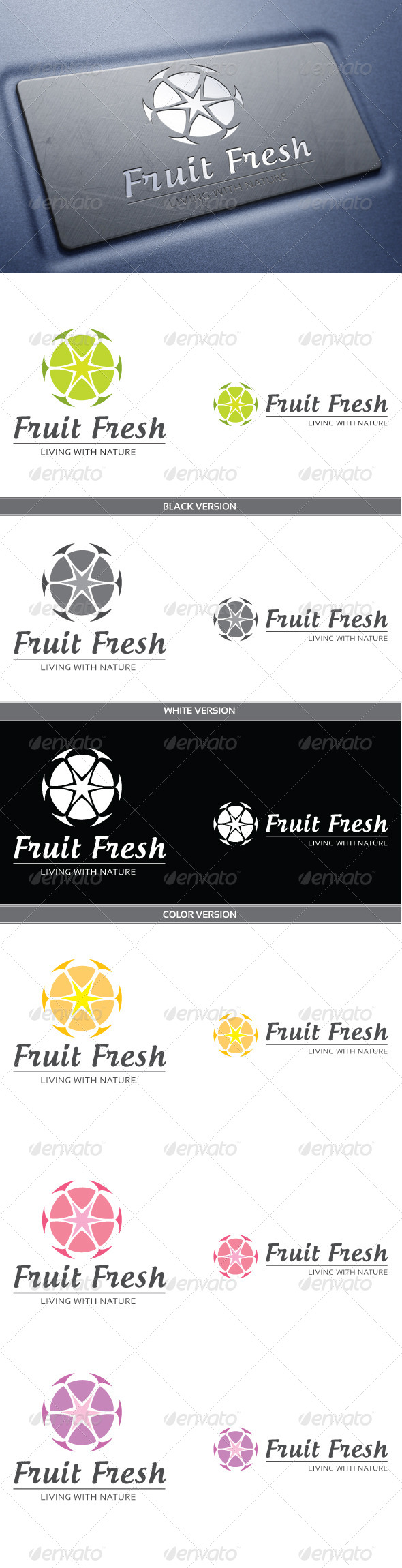GraphicRiver Fruit Fresh 3909269