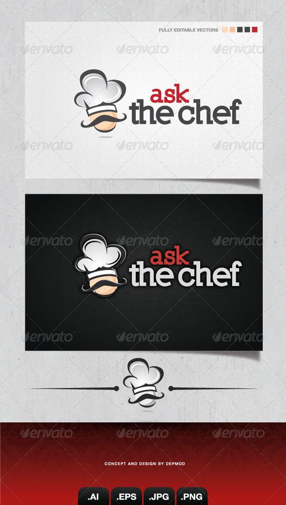 GraphicRiver Ask The Chef Logo 4095589