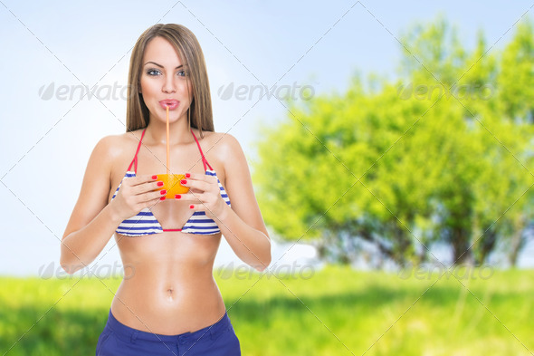 Tasty and refreshing - Stock Photo - Images