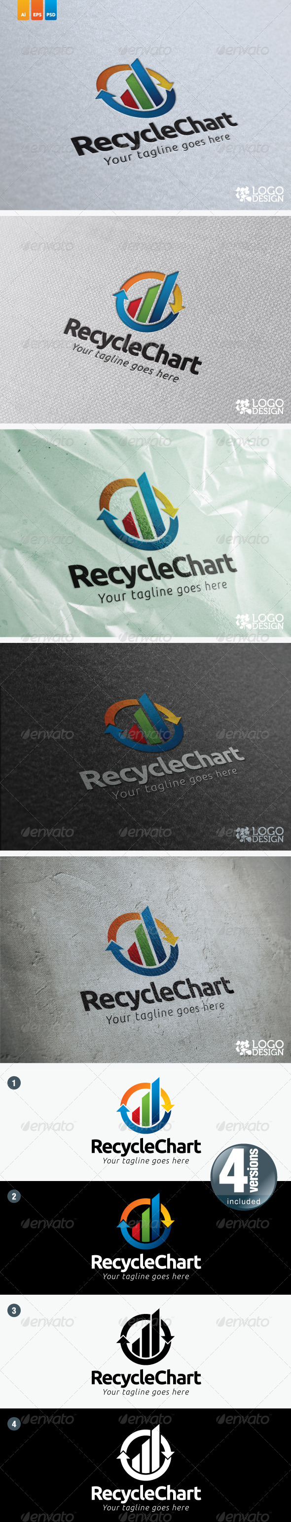 Recycle Chart - Symbols Logo Templates