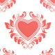 Red Heart Pattern - GraphicRiver Item for Sale