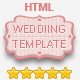 Wedding Invitation Responsive HTML Template - ThemeForest Item for Sale