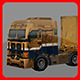 Truck Lowpoly - 3DOcean Item for Sale