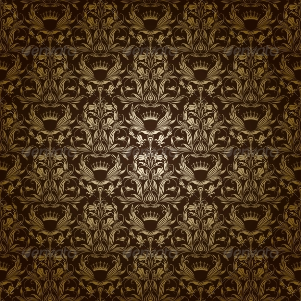 GraphicRiver Damask Seamless Floral Pattern 4187644