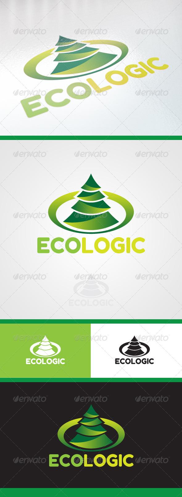 GraphicRiver EcoLogic Logo 4188191