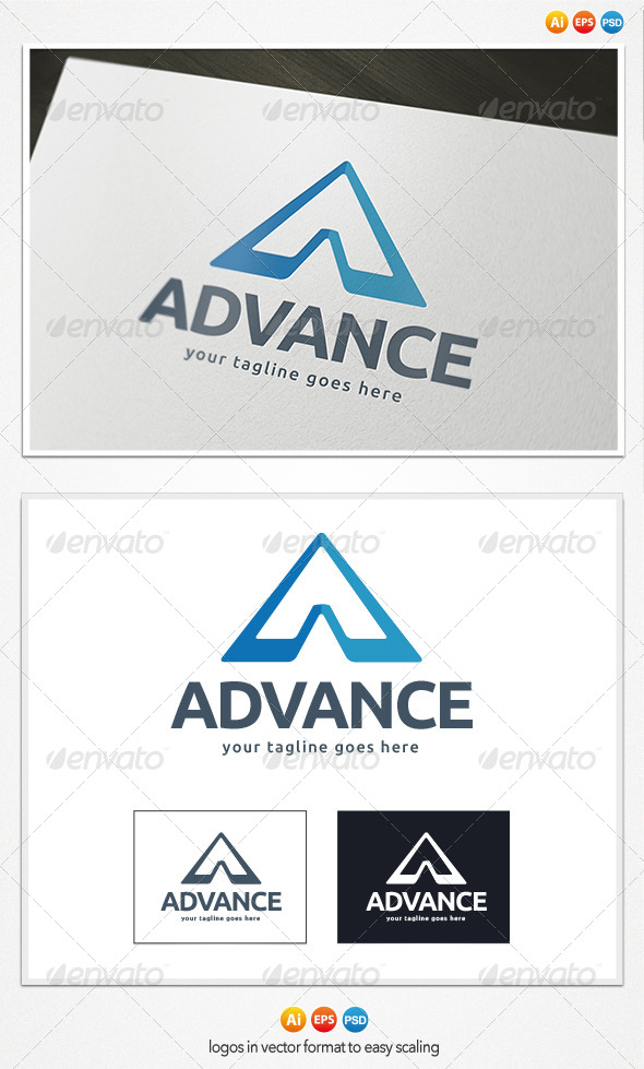 GraphicRiver Advance Logo 4188437
