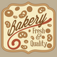 Bakery Logo Badges and Labels Set - GraphicRiver Item for Sale