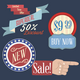 Vintage Labels and Stickers Set - GraphicRiver Item for Sale