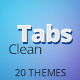Clean Tabs: Responsive Tabs to Accordion - CodeCanyon Item for Sale