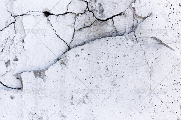 Chipped and cracked white wall Stock Photo by butlerm ...