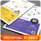 Clean Minimal Multipurpose Flyers vol. 1 - GraphicRiver Item for Sale