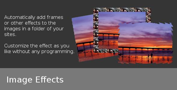 CodeCanyon Image Effects 4152846