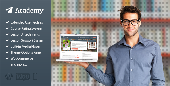 ThemeForest Academy Learning Management Theme 4169073