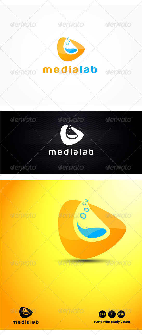 GraphicRiver Media Lab Logo 4192321