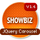 Showbiz Business Carousel jQuery Plugin - CodeCanyon Item for Sale