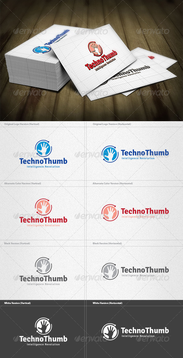 GraphicRiver Techno Thumb Logo 4199098