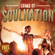 Sound of Soulnation Flyer Template - GraphicRiver Item for Sale