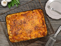 Lasagna in a metal pan - PhotoDune Item for Sale