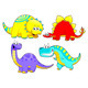 Dinosaurs Family. - GraphicRiver Item for Sale