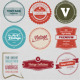 Retro Vintage Badge & Label V4 - GraphicRiver Item for Sale
