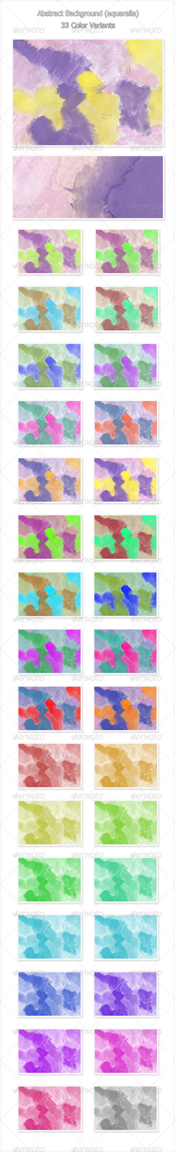 GraphicRiver Abstract Background Aquarelle 4200273