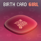 Gift Button Girl Edition - Birthday XML e-Card - ActiveDen Item for Sale