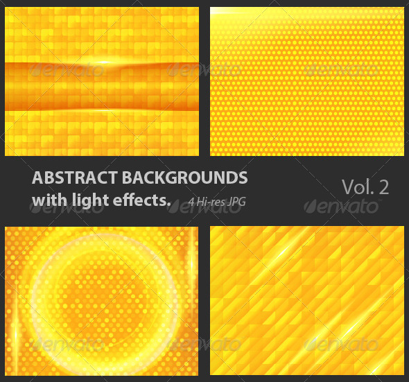GraphicRiver Abstract Backgrounds with Light Effects 4118887