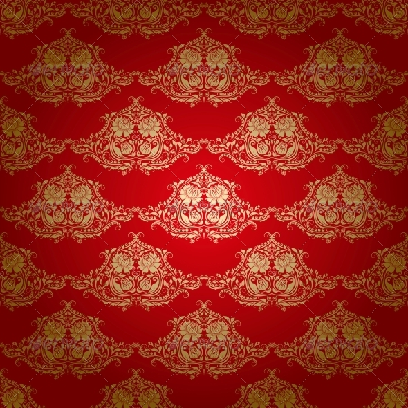 GraphicRiver Damask Seamless Floral Pattern 4202264