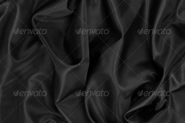 PhotoDune Black satin background 4253989