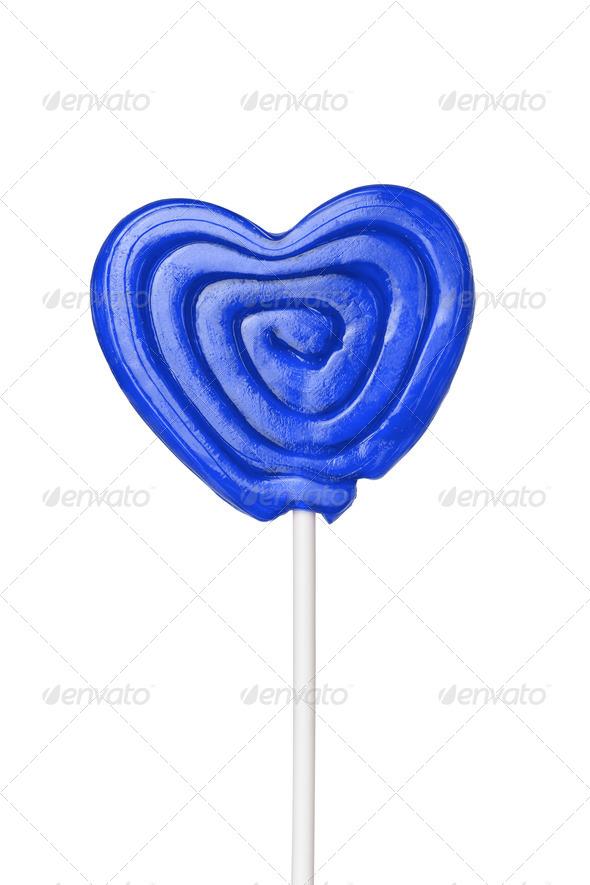 PhotoDune Sweet heart isolated on white background 4253992