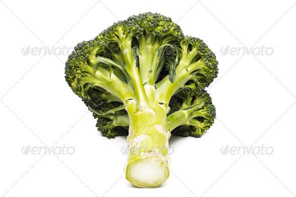PhotoDune Broccoli vegetable isolated on white background 4254042