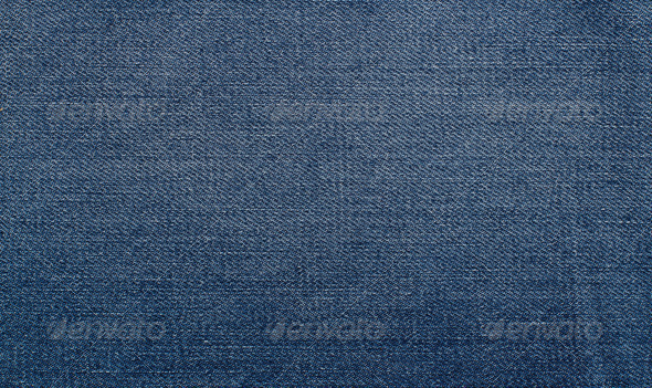 PhotoDune Worn Blue Denim Jeans texture background 4254366