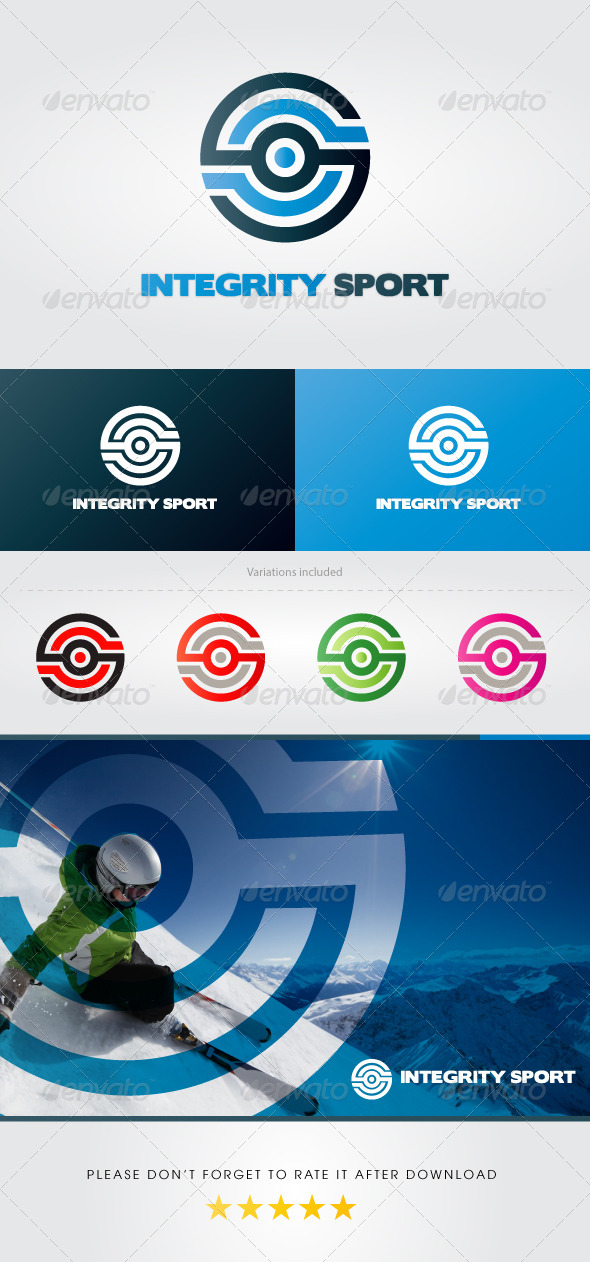 GraphicRiver Integrity Sport Logo 4118901