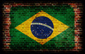 Flag of Brazil painted on a wall - PhotoDune Item for Sale